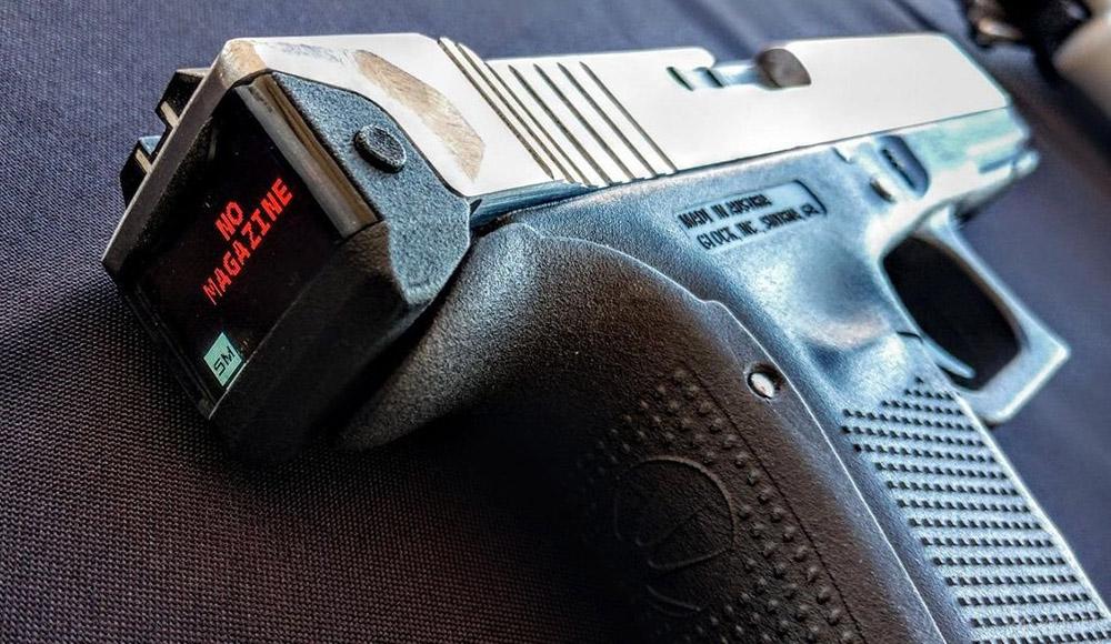 Glock 17: смарт-пистолет с дисплеем и счетчиком патронов
