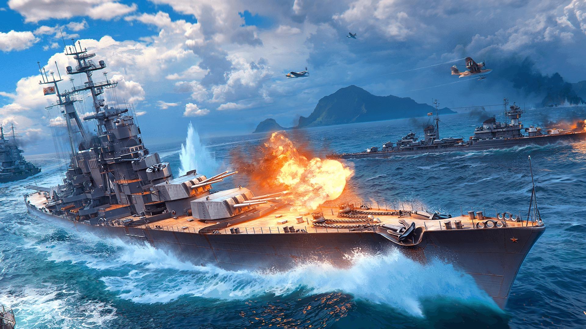 Бонусы и подарки пользователям в честь дня рождения World of Warships Blitz