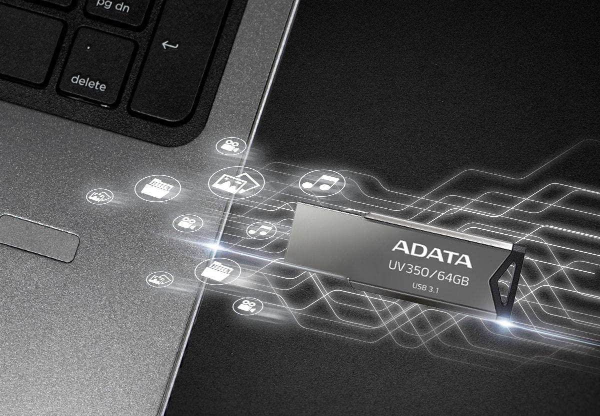 ADATA UV350: элегантная флешка объемом до 64 ГБ