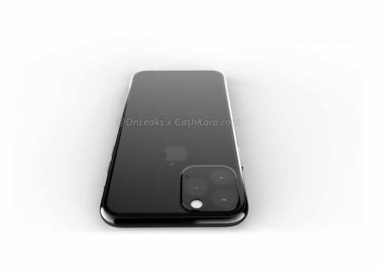 Макет нового iPhone XI с тройной камерой появился на видео