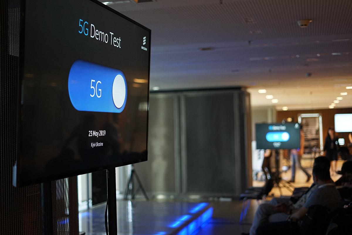Ericsson Украина и lifecell протестировали 5G со скоростью 25,6 Гбит/с