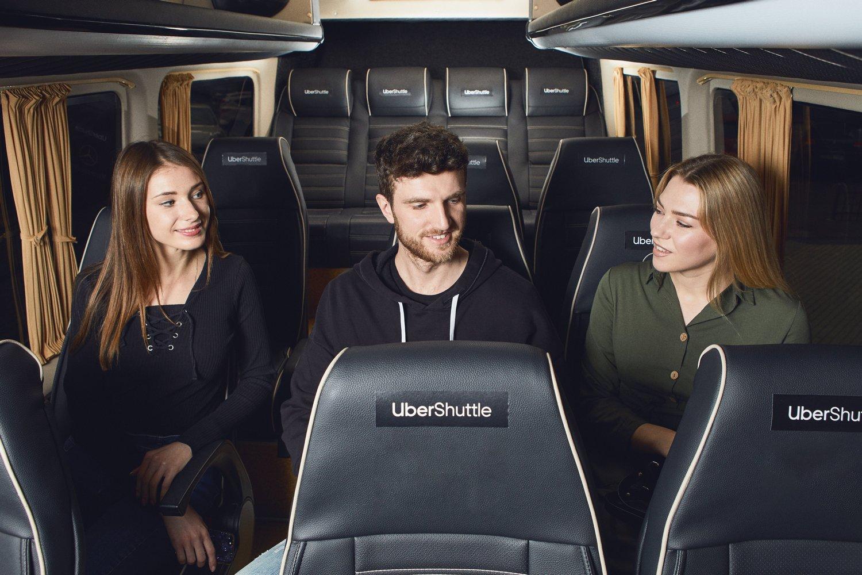 Альтернатива маршруткам: в Киеве запустили Uber Shuttle, цены от 15 до 30 грн