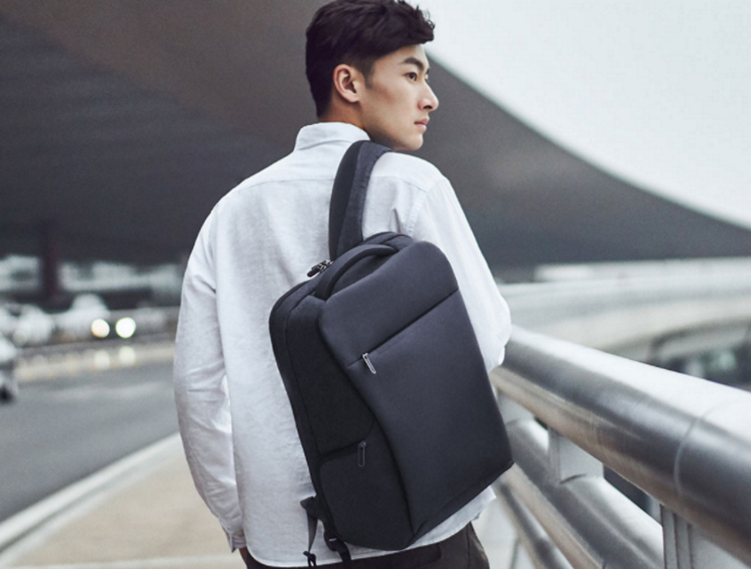 Xiaomi представила новый водонепроницаемый рюкзак для бизнеса
