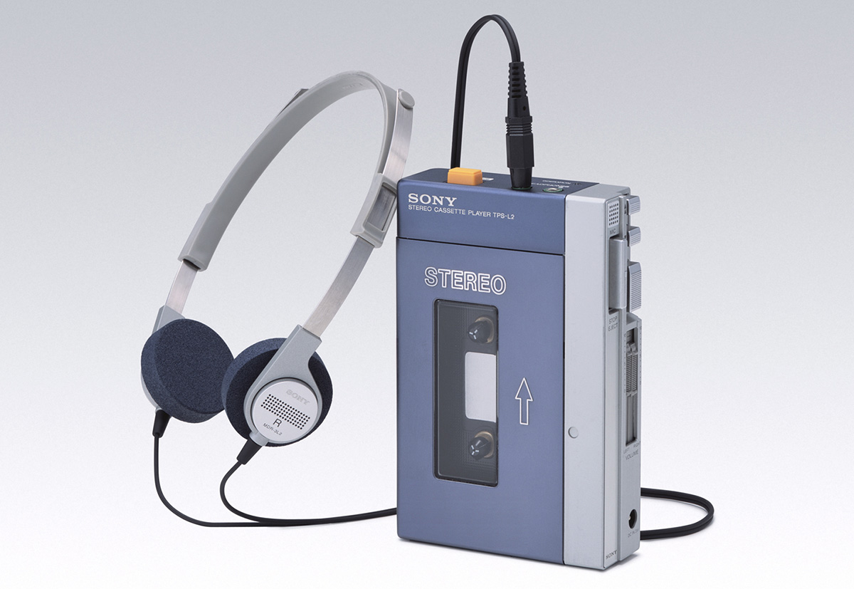 Легендарному плееру Sony Walkman исполнилось 40 лет