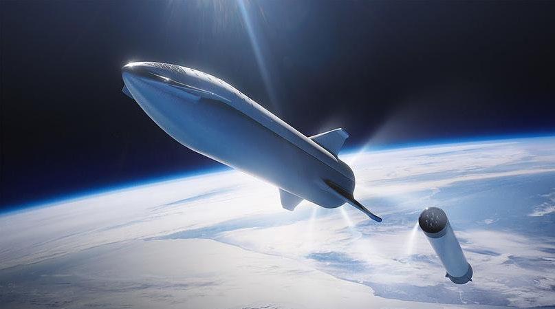 Пассажирский космический корабль Илона Маска показали на видео