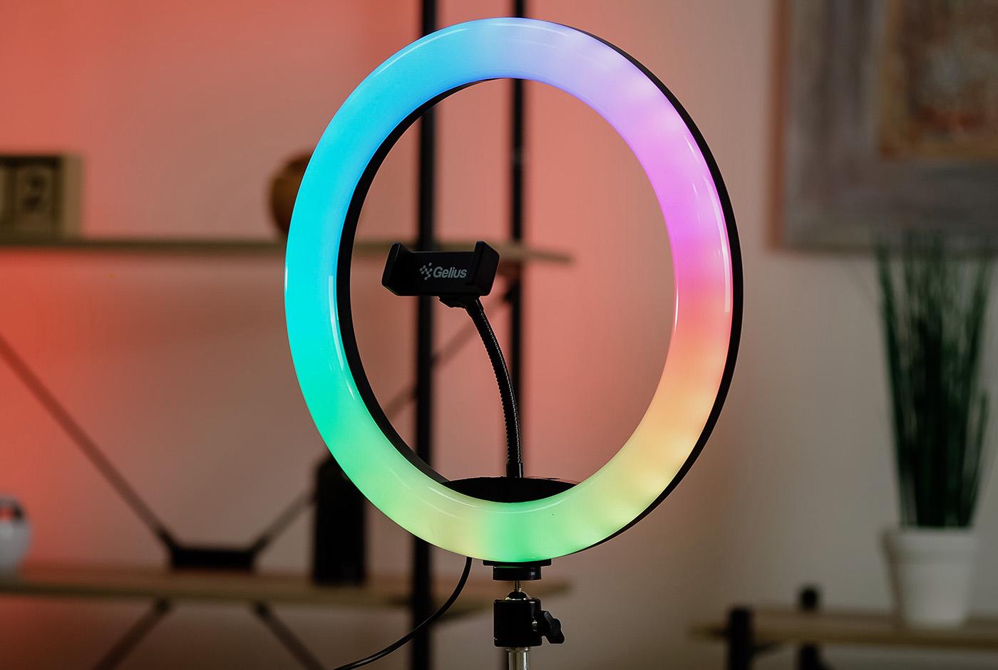Обзор Gelius Pro Halo RGB Ring: недорогой кольцевой RGB-свет для блогеров