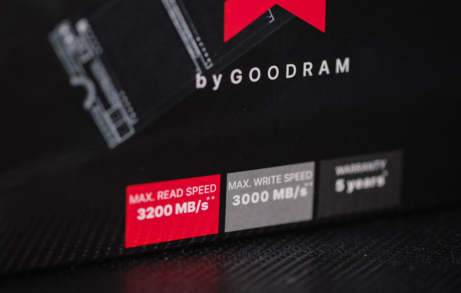 GOODRAM IRDM M.2 NVMe 512 ГБ