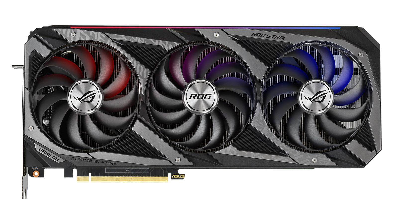 ASUS представила свои видеокарты на базе GeForce RTX 3080 Ti и RTX 3070 Ti