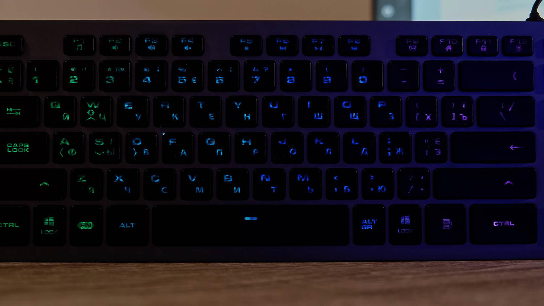 COUGAR VANTAR AX: игровая клавиатура не только для игр