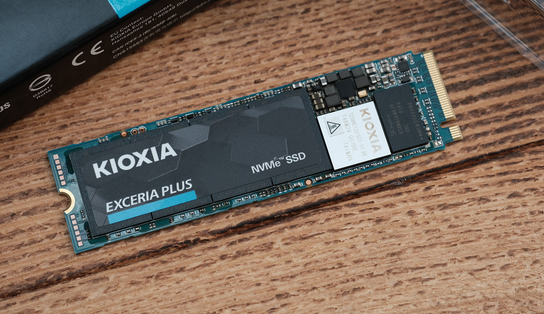 Обзор Kioxia EXCERIA PLUS: производительный NVMe накопитель для широкого спектра задач