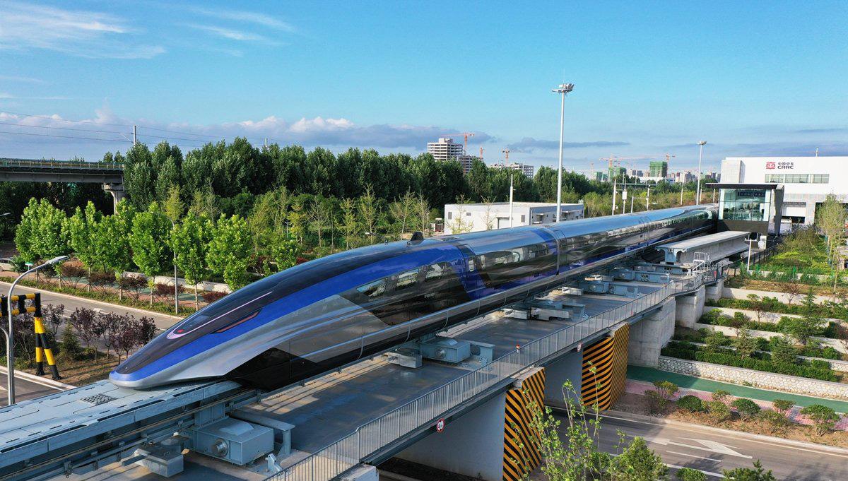 В Китае разработали самый быстрый поезд на магнитной подушке