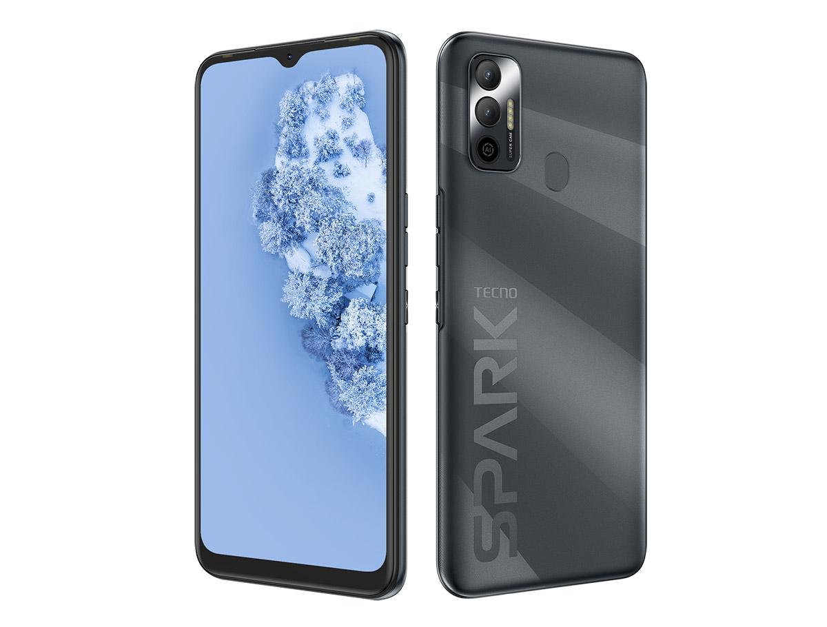 TECNO SPARK 7: недорогой смартфон на Helio P22 с поддержкой NFC и двойной камерой