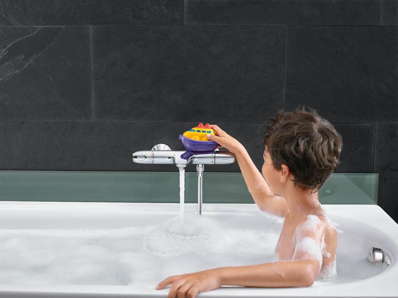 Современные технологии в ванной: смесители с термостатом