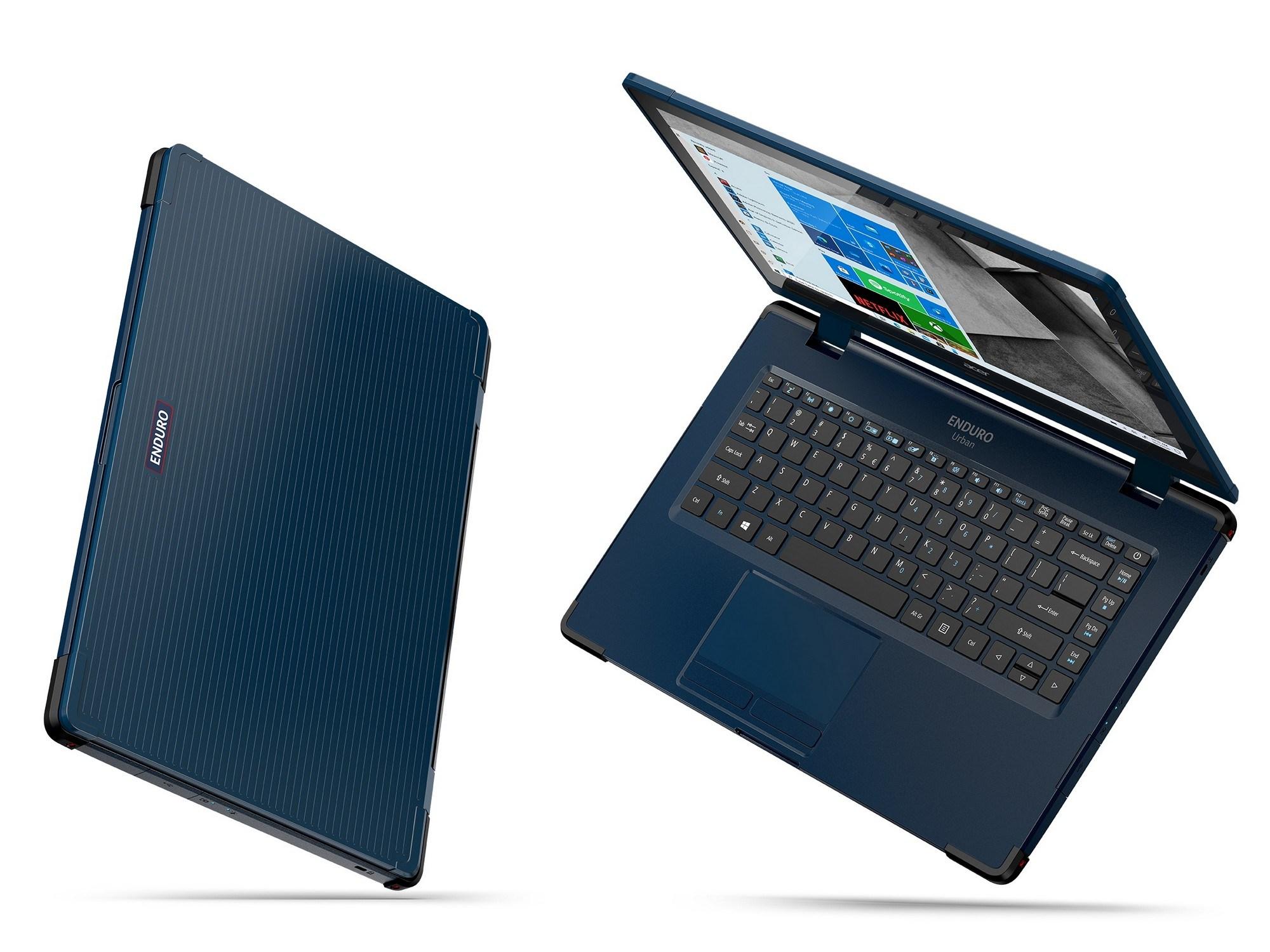 Защищенные ноутбуки Acer ENDURO официально в Украине