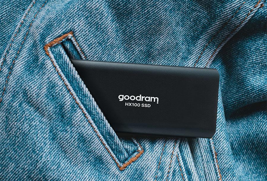 GOODRAM представила скоростной внешний SSD HX100 USB 3.2 Gen 2