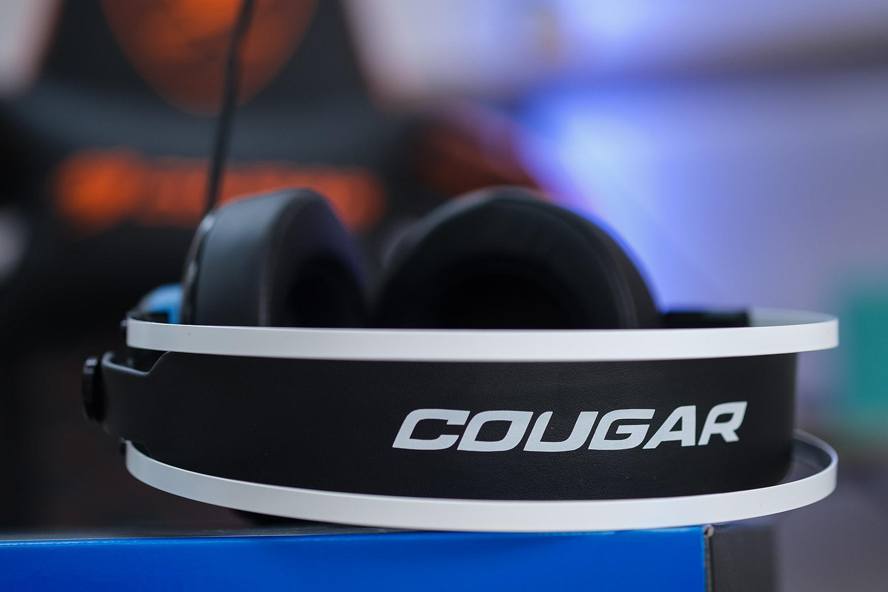 COUGAR VM410 PS: универсальная игровая гарнитура с крутым дизайном и богатым комплектом