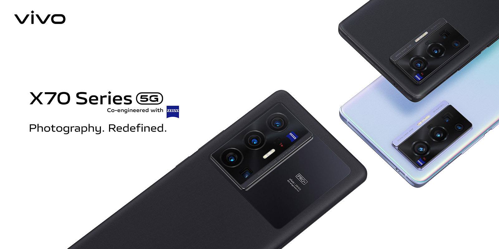 vivo представляет глобальную версию смартфонов cерии vivo X70